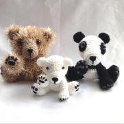 My Amigurumi Bears 😊