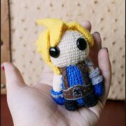 Cloud Amigurumi - Final Fantasy - La Calabaza de Jack