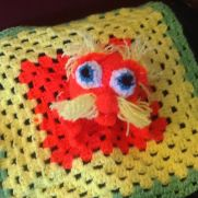 Lorax inspired lovey