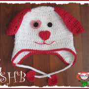 Puppy Love Crochet Hat