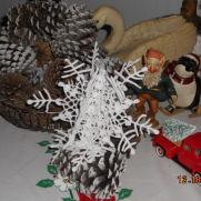 3D Snowflake Tree Topper