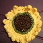"""sun""flower coaster"