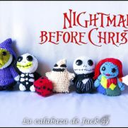 Nightmare before christmas Amigurumis - La Calabaza de Jack