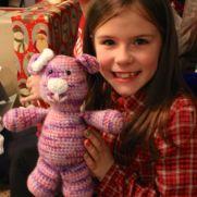 Pink and Purple Teddy Bear
