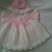 Beautiful angel top and frilled hat