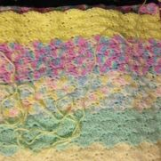 Little girls baby blanket