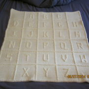 ABC Baby Afghan