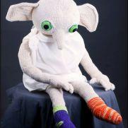 Crochet Dobby - Harry Potter - La Calabaza de Jack
