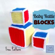 Baby Rattle Blocks