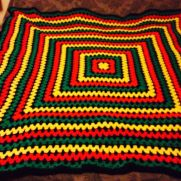 Colourful Afghan