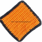 Single Crochet Square Coaster
