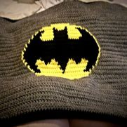 My First Graphghan... Batman Baby Blanket