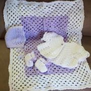 Baby doll layette set
