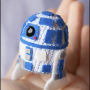 R2D2 Amigurumi - Star Wars - La Calabaza de Jack