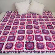 Majesty Crochet Blanket- easy and cozy!