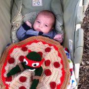 Ninja turtle blanket