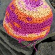 Crochet star hat