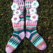 Free Spirit Slipper Socks Custom Colors