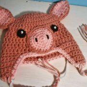 Piggy Baby Hat