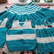 Ponchos n sweater vest