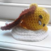 Little Gudetama Amigurumi