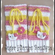 Hello Kitty Crochet Legwarmers
