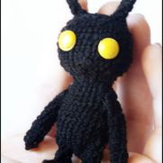 Heartless Amigurumi - kingdom hearts - La Calabaza de Jack