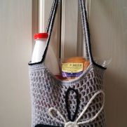 Casual Grey Tote Univerisy Bag