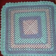 Granny Square with edging