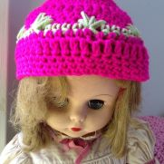 Clustered Spike Stitch Hat