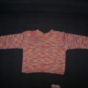 Knitted Sweater for Granddaughter