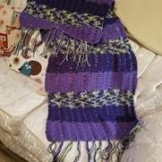 Shawl Shades of Purples