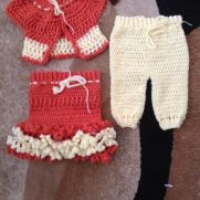 3-6 month baby 3 piece set