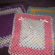 3 dolls blankets