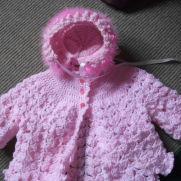 Crochet Layette Set