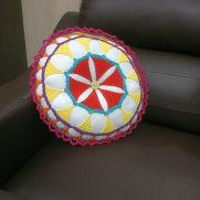 Lace Mandala Pillow