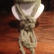 Crochet neck cowls