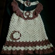Baby dress and headband