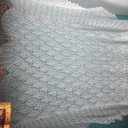 2ply lace shawl