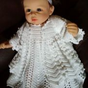 Christening Dress and Jacket