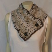 Roxy's Cowl in Yarn Bee Dee-Lish in Almond Bark