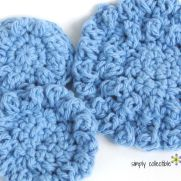 Free Pattern for Reusable Cotton Balls or Spa Scrubbie