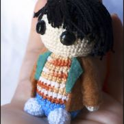 Mike Amigurumi - Stranger Things - La Calabaza de Jack