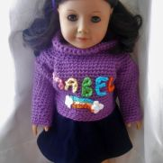 "Mabel Pines Inspired 18"" Doll Sweater"