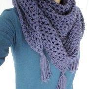 Purple Shawl/Scarf
