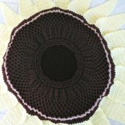 Lemon Queen Sunflower Beanbag and Rug Pattern
