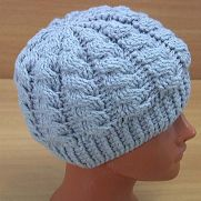 How to Crochet Cable Hat Video Tutorial