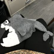 Shark Hat / Residual Limb Cover