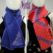 Scarf Squared – Half Double Crochet C2C Box Stitch