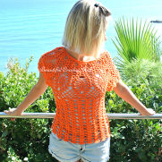 Pineaplle Crochet Top Pattern